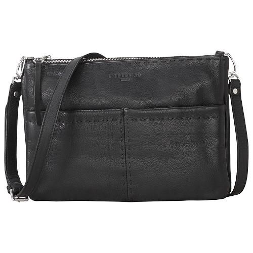 Liebeskind Berlin Providence Heavy Sch Leather Large Across Body Bag Black